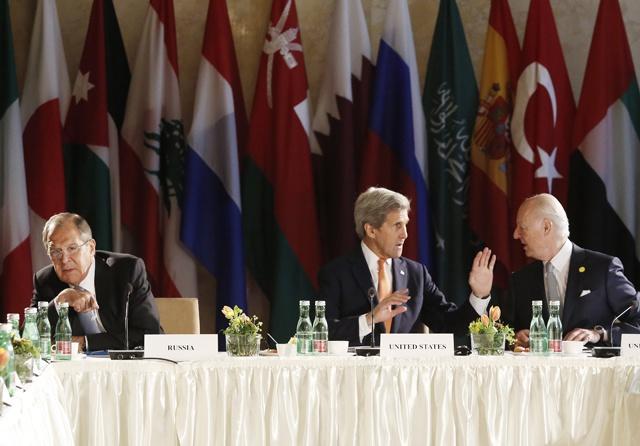 World powers meet to save Syria peace hopes