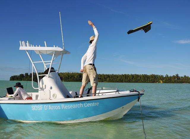 Vue d'ensemble : le projet Drone aidera à la conservation de l'atoll aux Seychelles