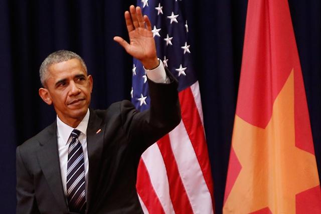 """A Hanoï, Obama défend la liberté d'expression, """"valeur universelle"""", """"pas une menace à la stabilité"""""""