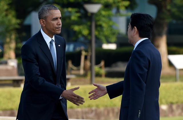 Obama makes history with Hiroshima visit
