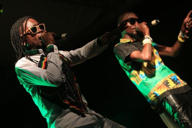 Ugandan reggae-R&B duo hype up Seychelles fans in Fet Afrik concert