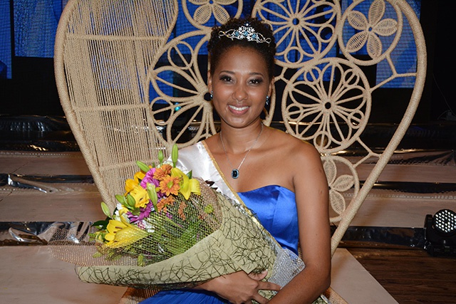 "Christinne Barbier, nouvelle ""Miss Seychelles Another World 2016"""