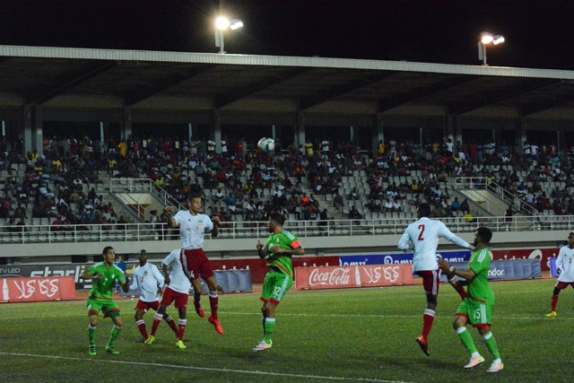 Seychelles lose 2-0 to Africa's top football team in African Cup of Nations qualifier