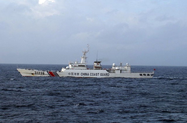 Japan protests as Chinese navy sails near disputed isles