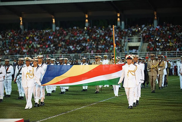 President Michel urges unity at Seychelles' independence celebration