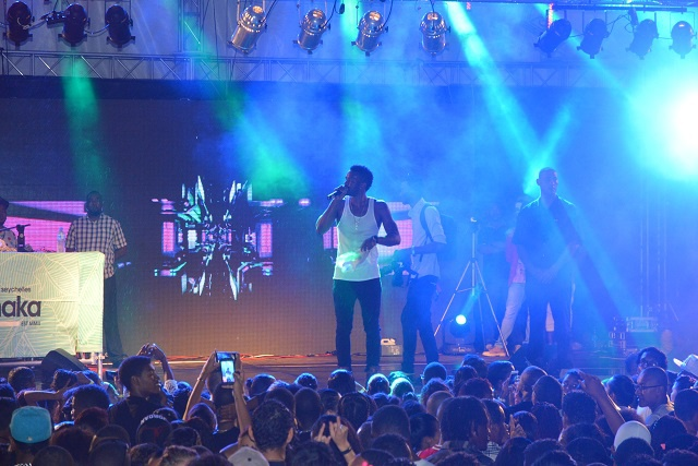 Jamaican artist Konshens brings dancehall and soca vibes to Seychelles for independence party
