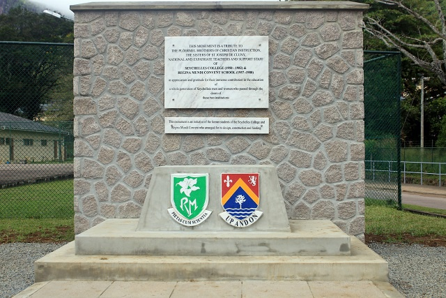 2 former Seychelles' educational institutions honoured with unveiling of new monument