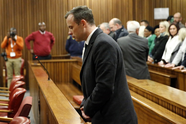 Pistorius jailed for six years for murdering girlfriend