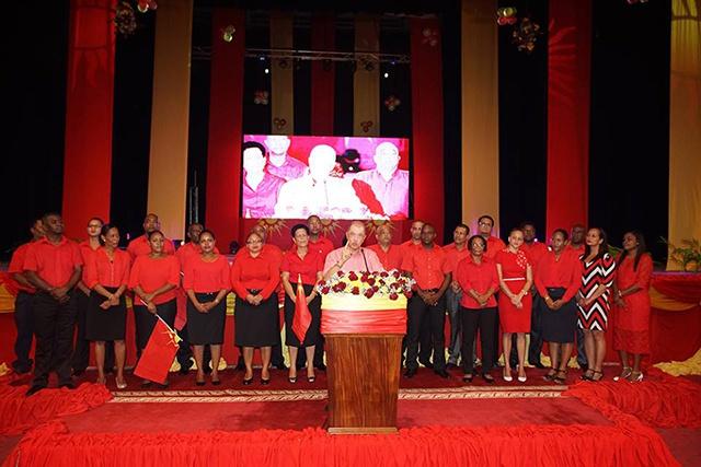 Le parti Lepep entre en campagne, en annonçant les 25 candidats aux prochaines élections législatives aux Seychelles.
