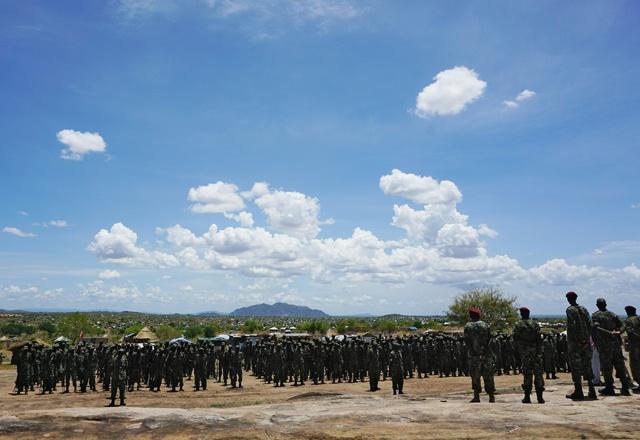 Gunfire near presidential palace in South Sudan