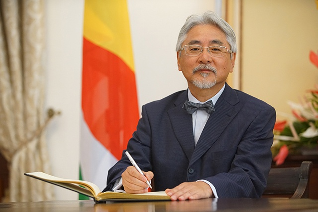 New Japanase ambassador to Seychelles eyes further cooperation in fisheries