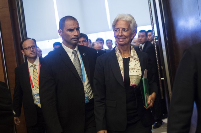 French trial casts shadow over IMF chief Lagarde