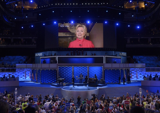 History-making Clinton is Democratic presidential nominee