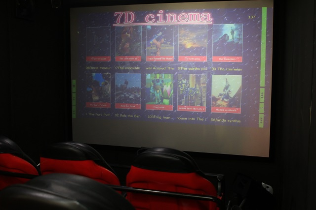 The latest in virtual reality -- 7D cinema -- opens in Seychelles