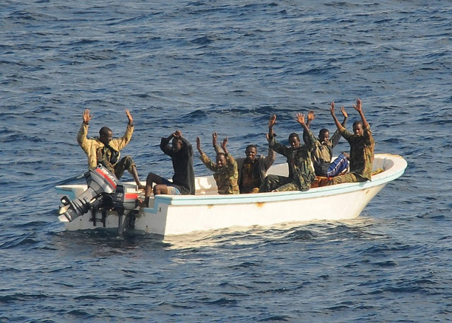 Twelve Somalis sentenced to five years for piracy