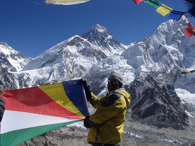 Seychellois mountaineer climbs some of the world's highest peaks