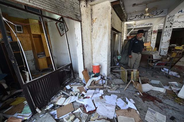 4 dead, dozens wounded in Pakistan court blast: police