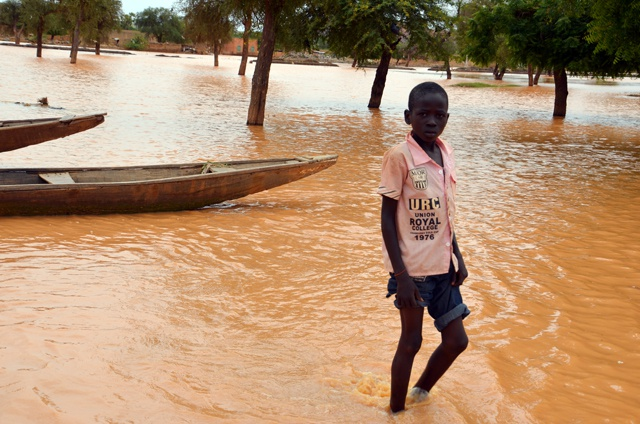 38 dead, 92,000 left homeless by Niger floods