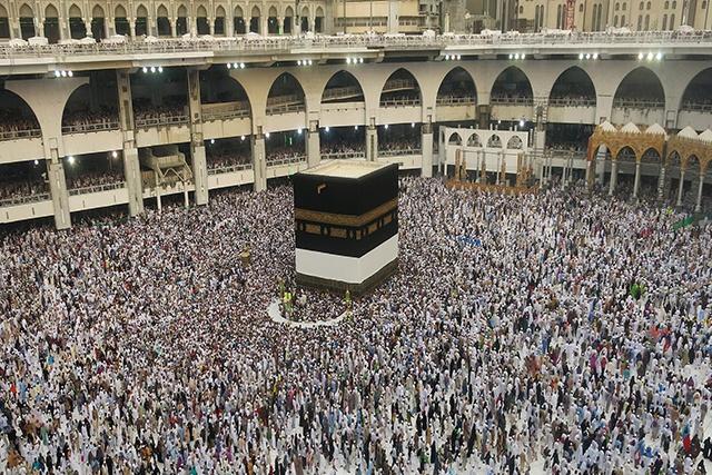 Près de 1,5 million de musulmans rassemblés à La Mecque pour le hajj