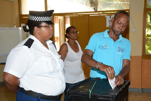 Seychelles' National Assembly Election Day 3: 41 percent of voters cast ballots by midday