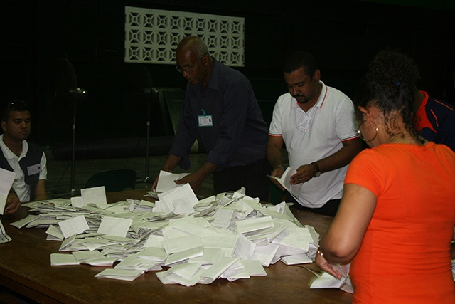 Count underway in Seychelles' National Assembly election