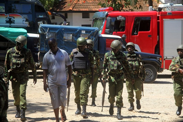 Female attackers killed at Mombasa police station