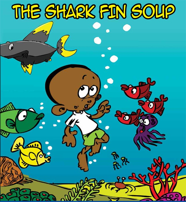 'The Shark Fin Soup' comic book highlight shark's plight, Seychellois cartoonist says