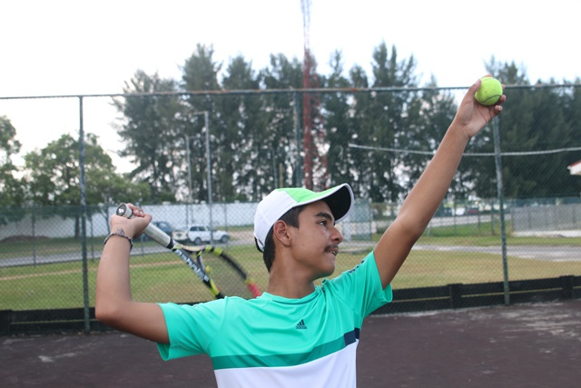 Young tennis player from Seychelles joins prestigious Justine Henin Academy