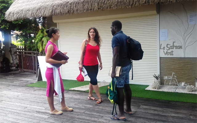 Chinese college students learn from the Seychelles' tourism industry
