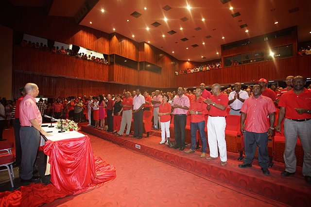 Le parti Lepep donne son soutien à Danny Faure pour remplacer le président James Michel.