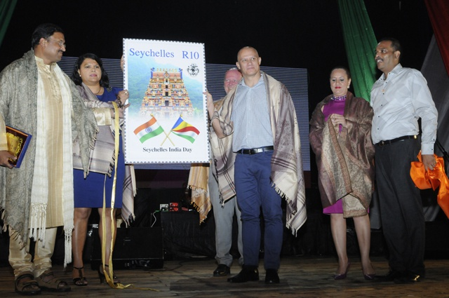 An imprint of good relations: Commemorative stamp unveiled to mark Seychelles-India Day