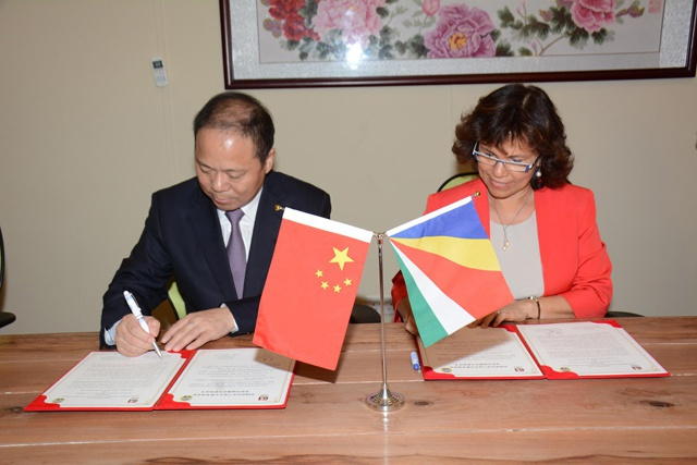 La capitale des Seychelles Victoria va coopérer avec Wuhan, en Chine dans la construction, et le tourisme