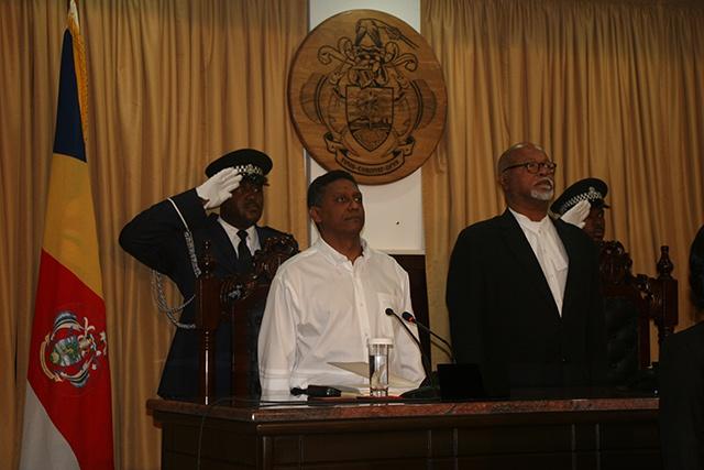 Le président des Seychelles insiste sur la bonne gouvernance, la transparence, et la responsabilité dans son discours