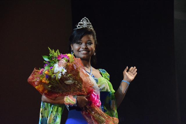 Omegan Jean-Marie Ciseau is crowned 'Miss Creole Des Iles International 2016'