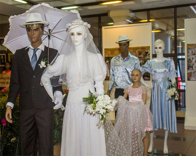 Traditional Seychellois wedding showcased at Creole Festival exhibit