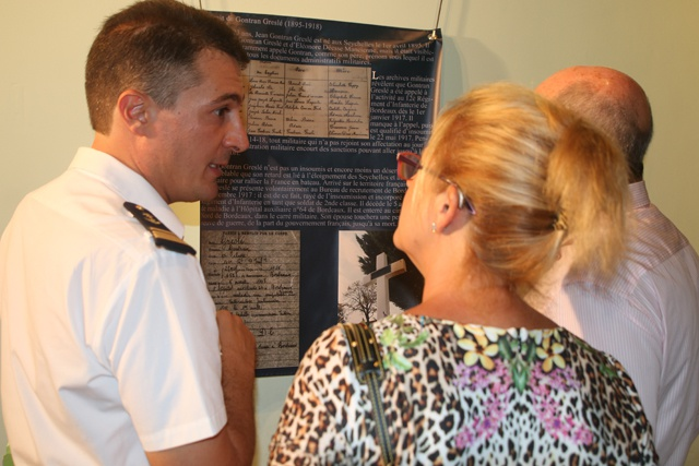 Seychellois soldiers who fought for France in WWI honoured in exhibition