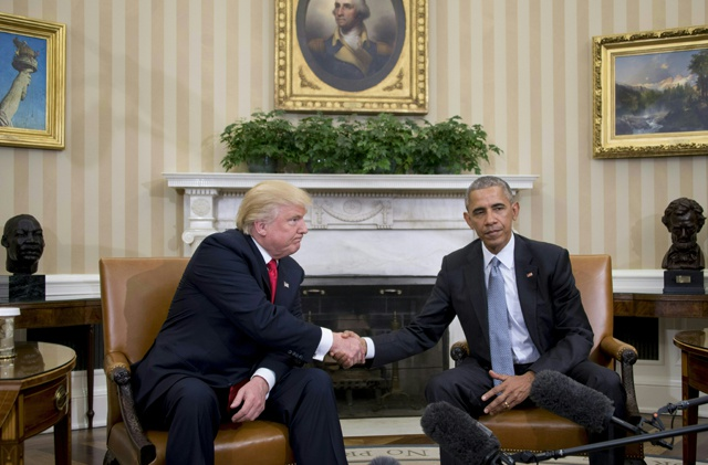 Obama, Trump hold 'excellent' White House talks