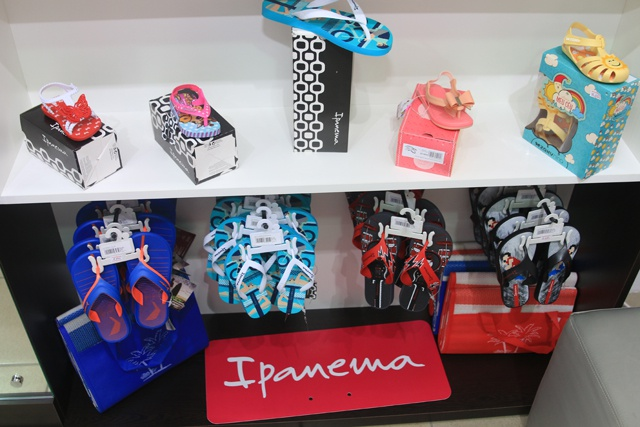 Brazilian footwear 'Ipanema' available in exclusive shop in Seychelles