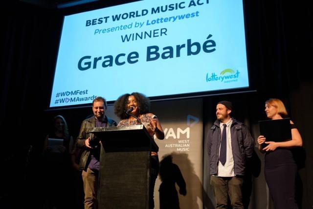 Seychellois Grace Barbé and band win music award in Australia