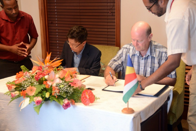 Seychelles, South Korea eye tourism exchanges as new air services agreement is signed