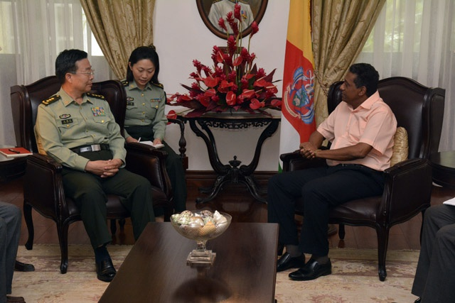 Seychelles, China to explore new avenues in defence cooperation