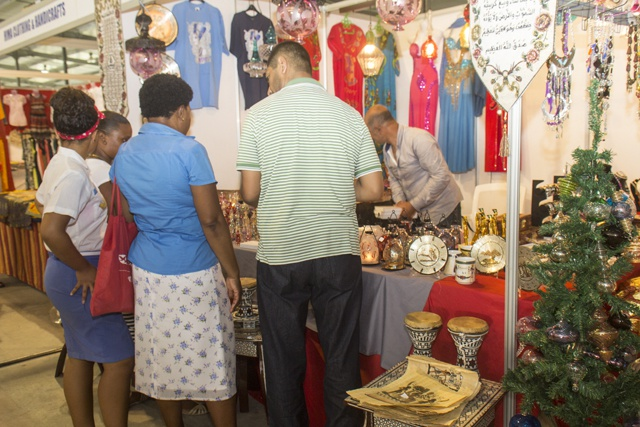 Season Wonders! Early Christmas expo opens in Seychelles
