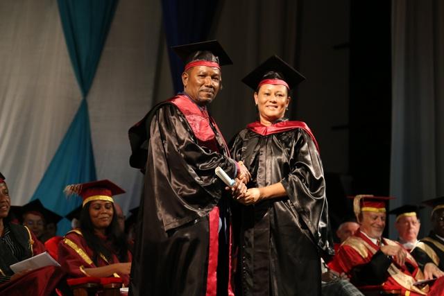 University of Seychelles awards first honorary degree to artist, civil society figure