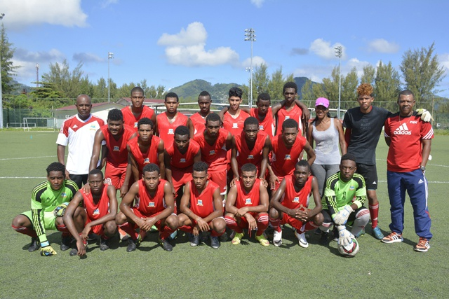 Seychelles' under-20 national team participate in African football competition in South Africa