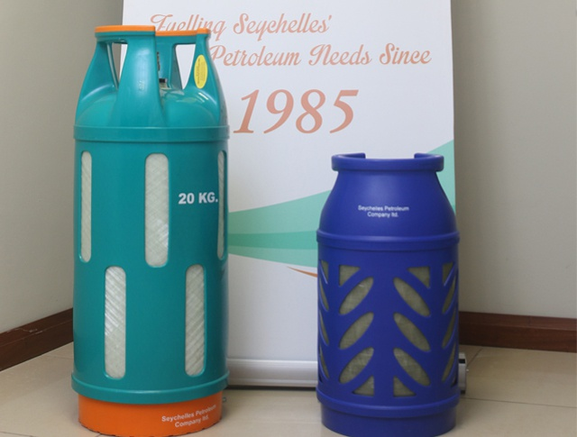 Seychelles introduces 'lighter and safer' (and more colorful) gas cylinders