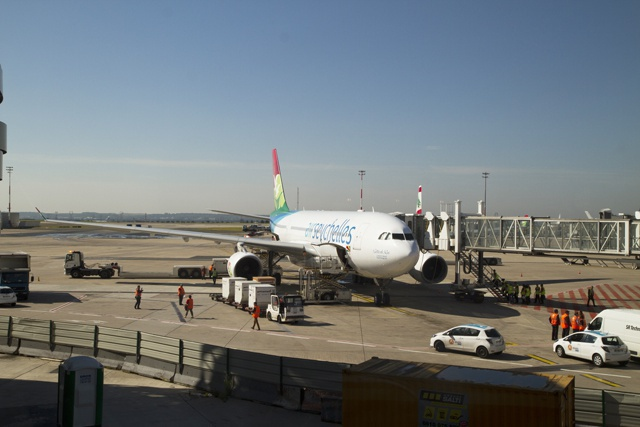 Air Seychelles aircraft grounded at France's Charles de Gaulle; passengers to be re-rerouted
