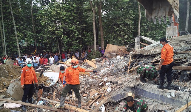 At least 25 dead in Indonesian earthquake