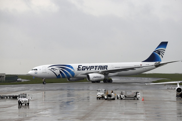 Traces from EgyptAir victims point to blast on plane