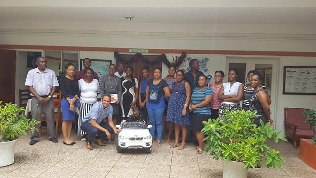Les voix puissantes du Ministère de l'environnement remportent un prix pour un seychellois de 6 ans