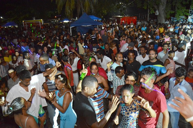 Seychelles welcomes the New Year with street party in the capital
